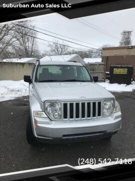 2009 Jeep Liberty for sale at Suburban Auto Sales LLC in Madison Heights MI
