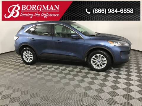 2020 Ford Escape for sale at BORGMAN OF HOLLAND LLC in Holland MI