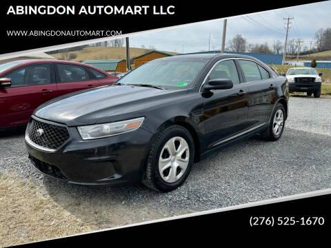 2013 Ford Taurus for sale at ABINGDON AUTOMART LLC in Abingdon VA
