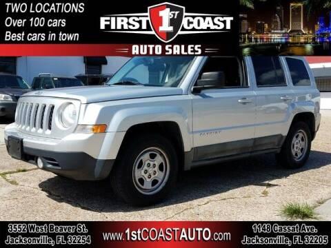 2011 Jeep Patriot for sale at 1st Coast Auto -Cassat Avenue in Jacksonville FL