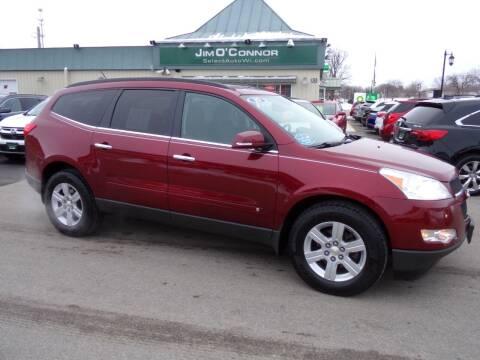 2010 Chevrolet Traverse for sale at Jim O'Connor Select Auto in Oconomowoc WI