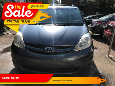 2006 Toyota Sienna for sale at Gondal Motors in West Hempstead NY