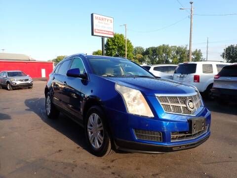 2012 Cadillac SRX for sale at Marty's Auto Sales in Savage MN