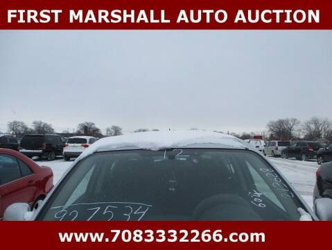 2012 Nissan Versa for sale at First Marshall Auto Auction in Harvey IL