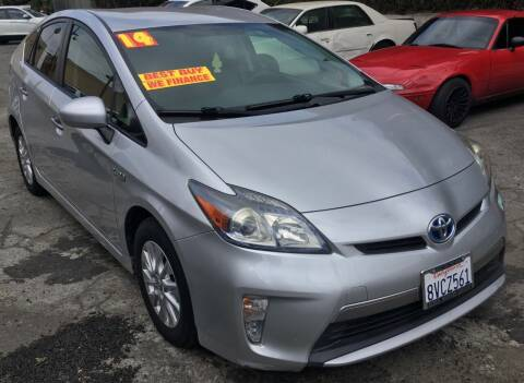 2014 Toyota Prius Plug-in Hybrid for sale at Eden Motor Group in Los Angeles CA