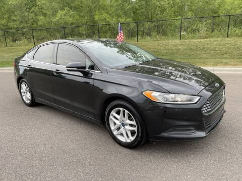 2014 Ford Fusion for sale at Angies Auto Sales LLC in Newport MN