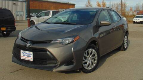2018 Toyota Corolla for sale at Dependable Used Cars in Anchorage AK