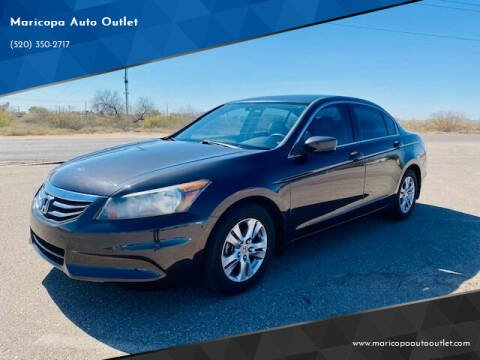 2012 Honda Accord for sale at Maricopa Auto Outlet in Maricopa AZ