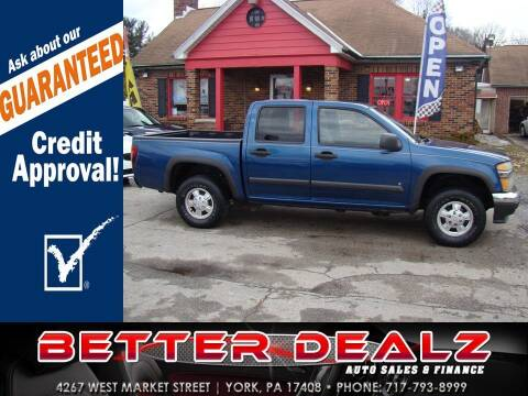2006 Chevrolet Colorado for sale at Better Dealz Auto Sales & Finance in York PA