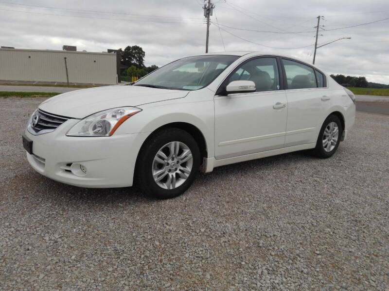 2012 Nissan Altima for sale at KESLER AUTO SALES in St. Libory IL