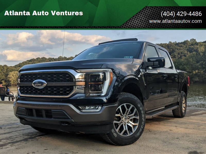 2021 Ford F-150 for sale at Atlanta Auto Ventures in Roswell GA