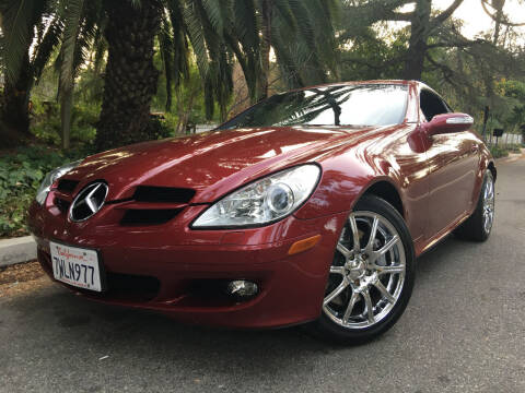 2006 Mercedes-Benz SLK for sale at Valley Coach Co Sales & Lsng in Van Nuys CA