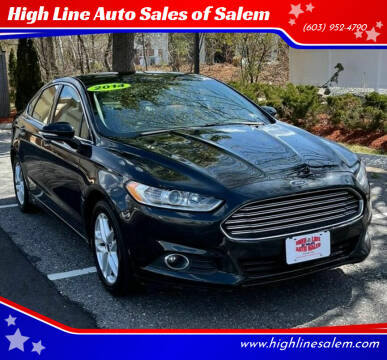 2014 Ford Fusion for sale at High Line Auto Sales of Salem in Salem NH