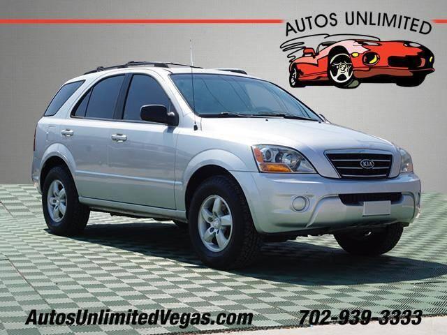 2007 Kia Sorento for sale at Autos Unlimited in Las Vegas NV