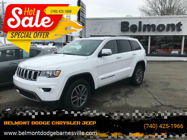 2020 Jeep Grand Cherokee for sale at BELMONT DODGE CHRYSLER JEEP in Barnesville OH