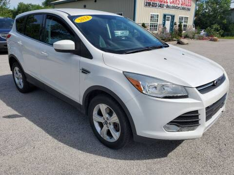 2014 Ford Escape for sale at Reliable Cars Sales in Michigan City IN