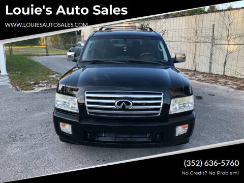 2007 Infiniti QX56 for sale at Louie's Auto Sales in Leesburg FL