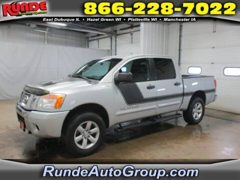 2012 Nissan Titan for sale at Runde Chevrolet in East Dubuque IL