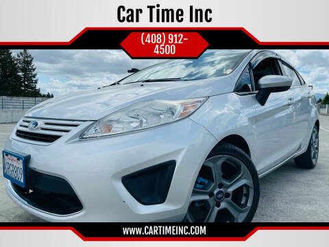 2011 Ford Fiesta for sale at Car Time Inc in San Jose CA