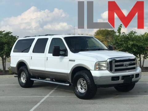 2001 Ford Excursion for sale at INDY LUXURY MOTORSPORTS in Fishers IN