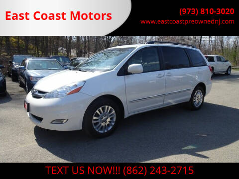 2009 Toyota Sienna for sale at East Coast Motors in Lake Hopatcong NJ