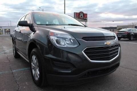 2017 Chevrolet Equinox for sale at B & B Car Co Inc. in Clinton Twp MI