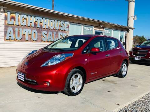 2012 Nissan LEAF for sale at Lighthouse Auto Sales LLC in Grand Junction CO