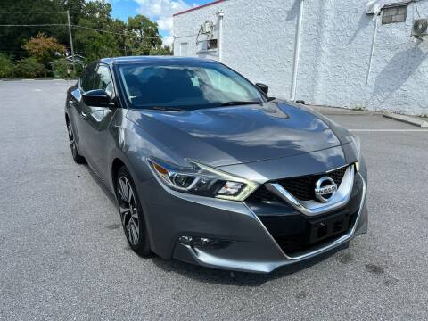 2016 Nissan Maxima for sale at LUXURY AUTO MALL in Tampa FL