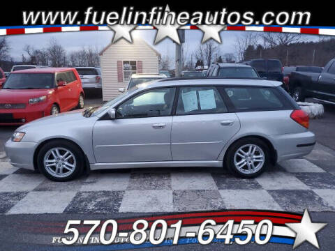 2005 Subaru Legacy for sale at FUELIN FINE AUTO SALES INC in Saylorsburg PA