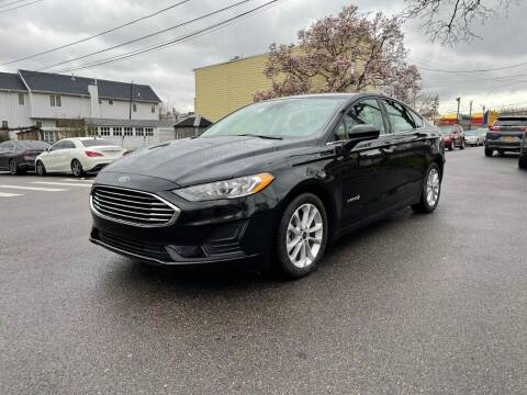 2019 Ford Fusion Hybrid for sale at Kapos Auto, Inc. in Ridgewood, Queens NY