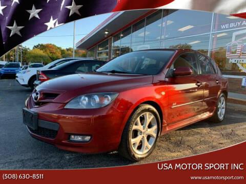2008 Mazda MAZDA3 for sale at USA Motor Sport inc in Marlborough MA