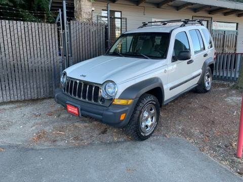 2006 Jeep Liberty for sale at C&D Auto Sales Center in Kent WA