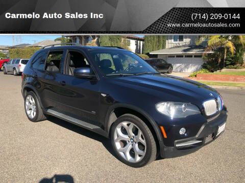 2008 BMW X5 for sale at Carmelo Auto Sales Inc in Orange CA