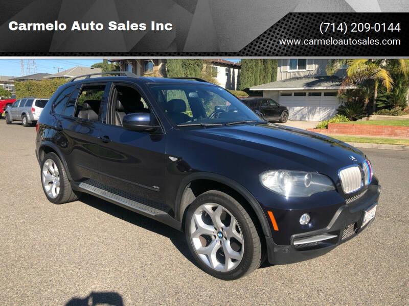2008 BMW X5 for sale at Carmelo Auto Sales Inc in Orange CA
