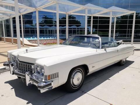 1973 Cadillac Eldorado for sale at Car Mart Leasing & Sales in Hollywood FL