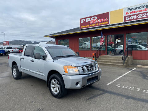 2011 Nissan Titan for sale at Pro Motors in Roseburg OR