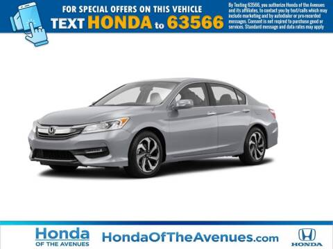2017 Honda Accord for sale at Honda of The Avenues in Jacksonville FL