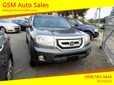 2011 Honda Pilot for sale at GSM Auto Sales in Linden NJ