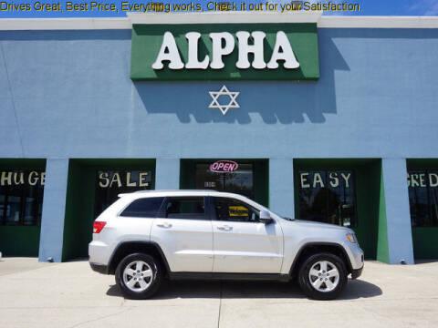 2013 Jeep Grand Cherokee for sale at ALPHA AUTOMOBILE SALES, LLC in Lafayette LA