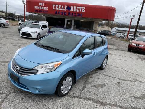 2015 Nissan Versa Note for sale at Texas Drive LLC in Garland TX