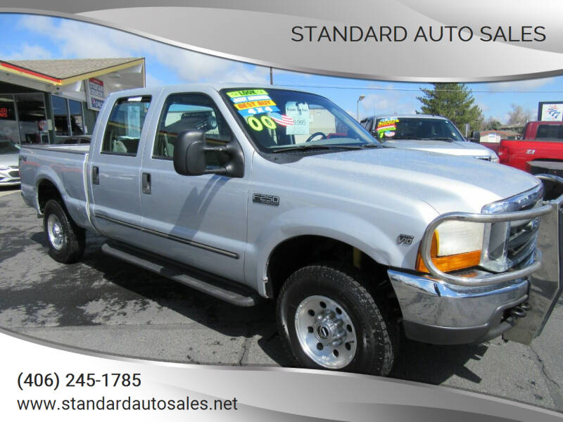 2000 Ford F-250 Super Duty for sale at Standard Auto Sales in Billings MT