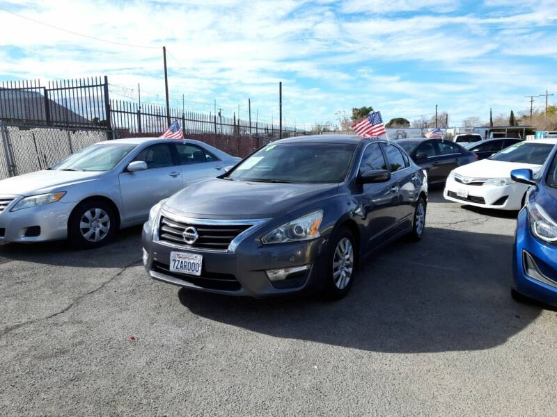 2014 Nissan Altima for sale at Autosales Kingdom in Lancaster CA