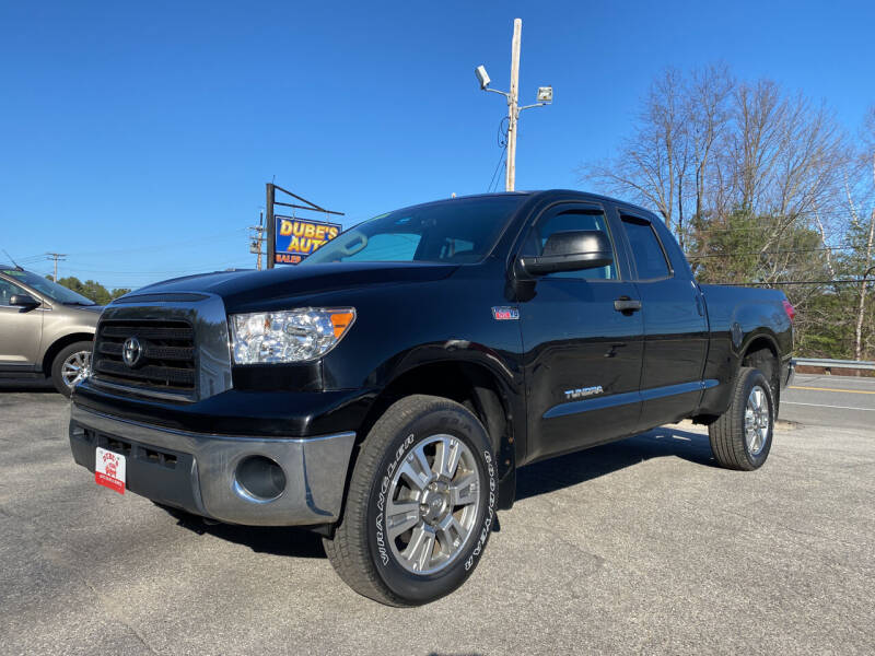 2008 Toyota Tundra for sale at Dubes Auto Sales in Lewiston ME