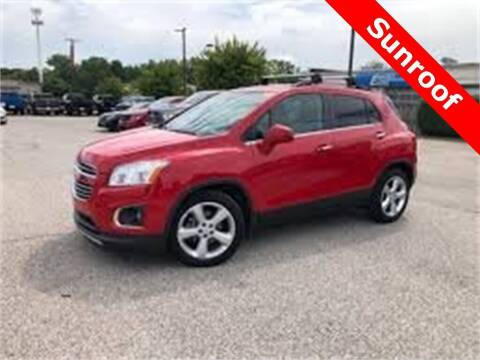 2015 Chevrolet Trax for sale at Coast to Coast Imports in Fishers IN
