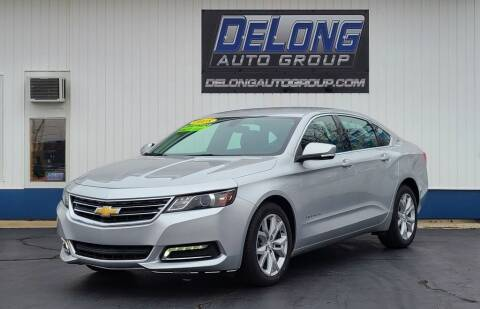 2018 Chevrolet Impala for sale at DeLong Auto Group in Tipton IN
