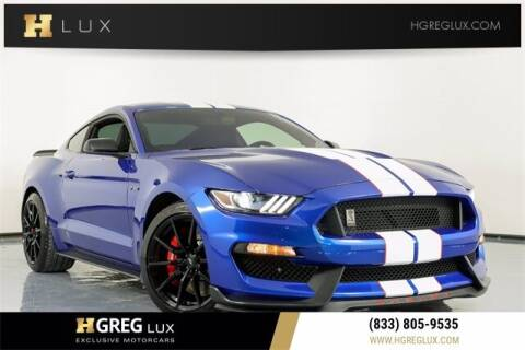2017 Ford Mustang for sale at HGREG LUX EXCLUSIVE MOTORCARS in Pompano Beach FL