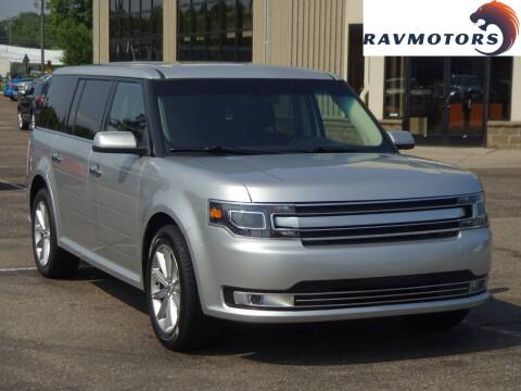 2017 Ford Flex for sale at RAVMOTORS 2 in Crystal MN
