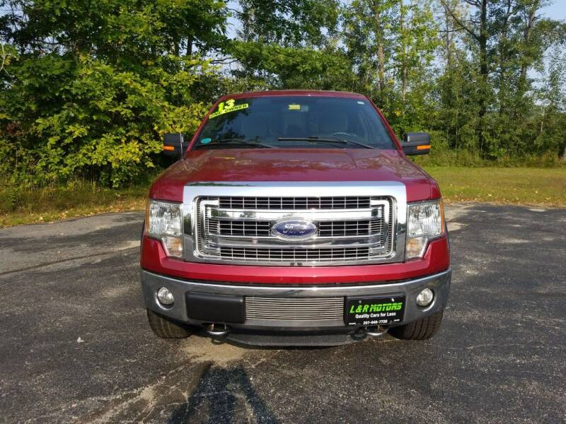 2013 Ford F-150 for sale at L & R Motors in Greene ME