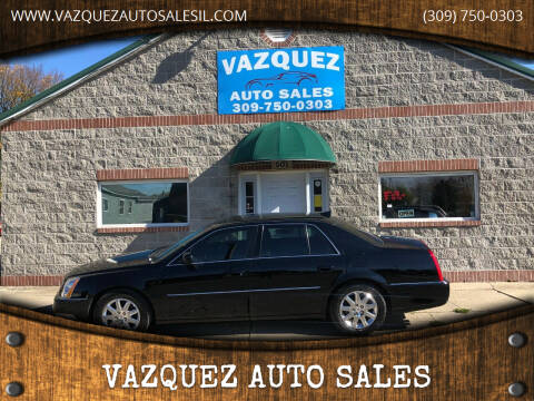 2010 Cadillac DTS for sale at VAZQUEZ AUTO SALES in Bloomington IL