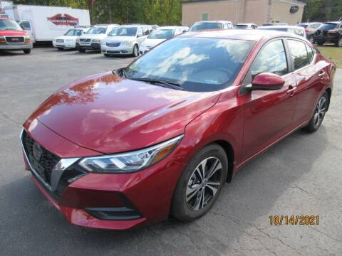 2020 Nissan Sentra for sale at Route 12 Auto Sales in Leominster MA